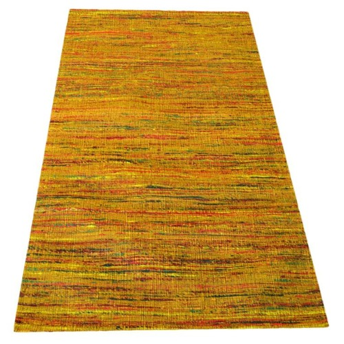 Ground Work Rugs Gold Hand Woven Rug