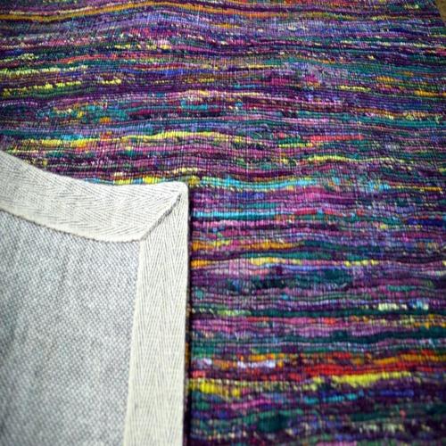 Lotus Rugs Purple Hand Woven Rug