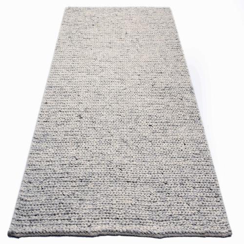 Ground Work Rugs Silver Link Braided Wool-Blend Rug