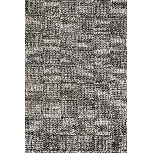 Ground Work Rugs Ash Grey Ottawa Braided Wool-Blend Rug