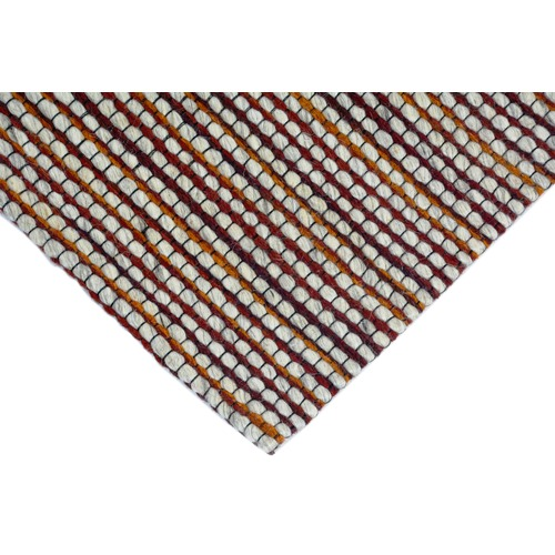 Ground Work Rugs Rust Berlin Woven Wool-Blend Rug