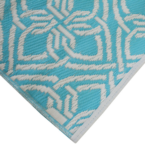 Ground Work Rugs Aqua Chatai Classic Outdoor Rug