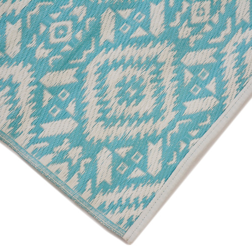 Ground Work Rugs Sky Blue Chatai Classic Outdoor Rug