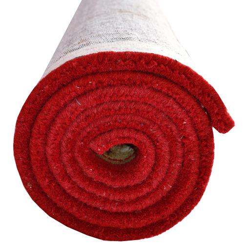 Ground Work Rugs Red & Cream Kashan Wool-Blend Rug
