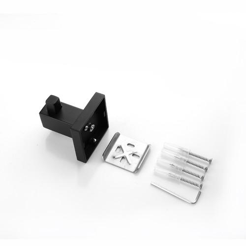 Expert Homewares Black Stainless Steel Bathroom Hook