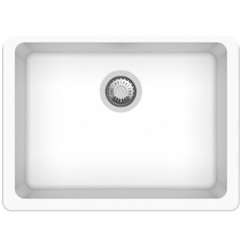 Expert Homewares White Granite Kitchen Single Sink Bowl