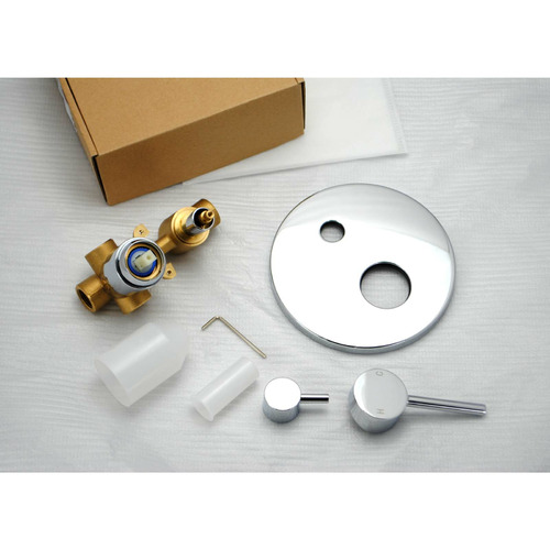 Expert Homewares Round Euro Shower & Bath Mixer Diverter
