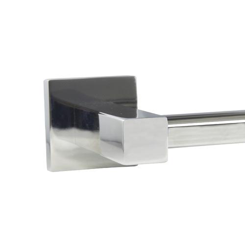 Expert Homewares Chrome Gama Stainless Steel Double Bar Towel Rail