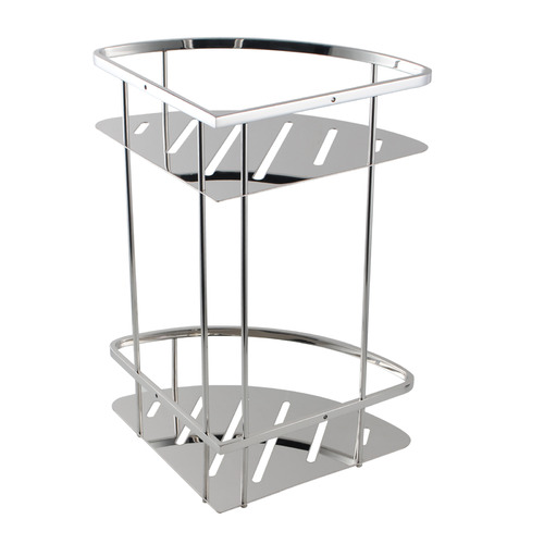 ACA Tapware 2 Tier Stainless Steel Shower Caddy Shelf