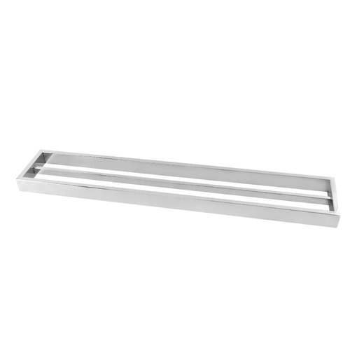 Expert Homewares Omar Stainless Steel Double Towel Rail