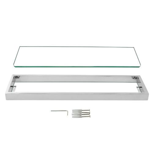 Expert Homewares 60cm Omar Glass Shelf