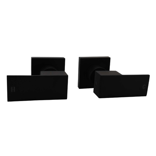 Expert Homewares 2 Piece Rectangular Ottimo Shower Wall Tap Set