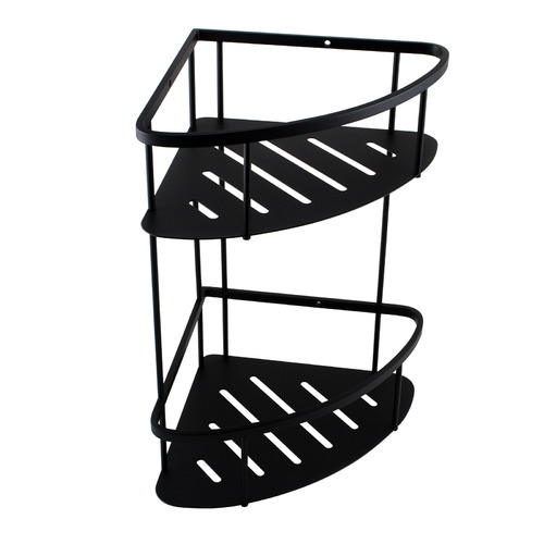 Expert Homewares 2 Tier Stainless Steel Shower Caddy Shelf