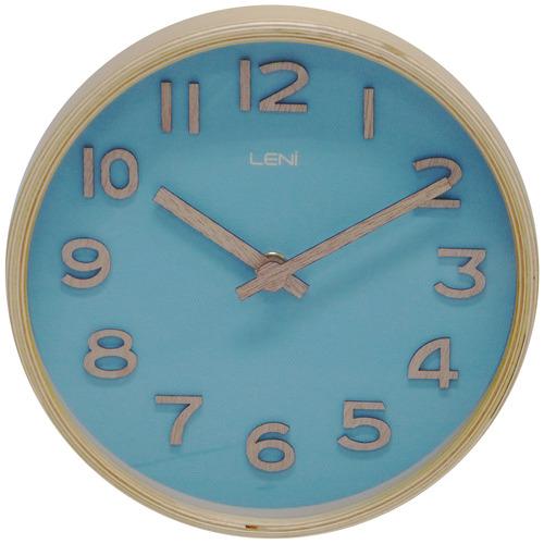 Leni 18cm Leni Wood Table & Wall Clock