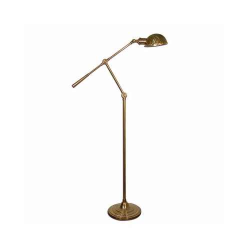 Emac U0026amp; Lawton Calais Adjustable Floor Lamp In Antique Brass