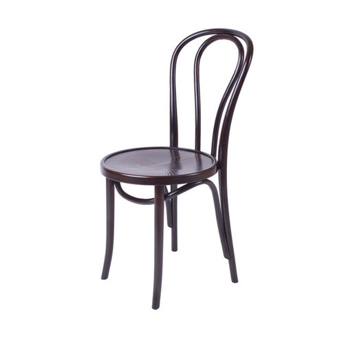 Bentwood Chair with Plain Seat – Black Bentwood Chair