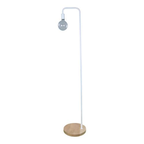 CLA Lighting Kent Steel & wood Floor Lamp