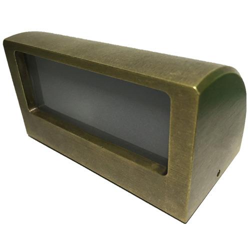 Bronze 11 5cm Curved Step Light