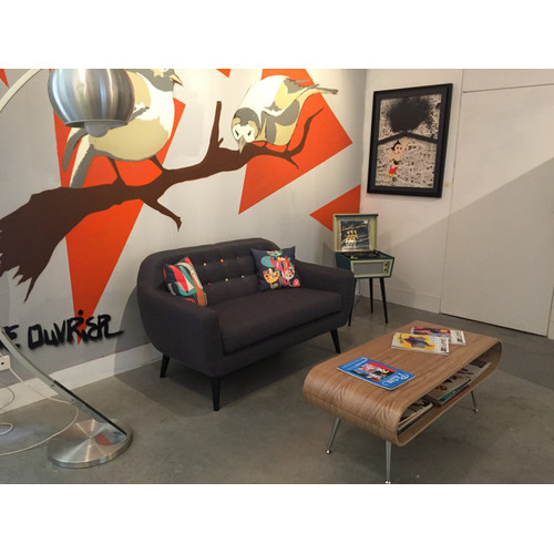 By Designs Mid Century 2 Seater Sofa