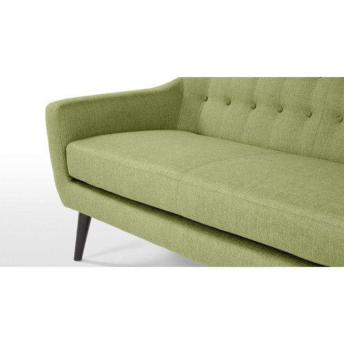By Designs Mid Century 3 Seater Sofa