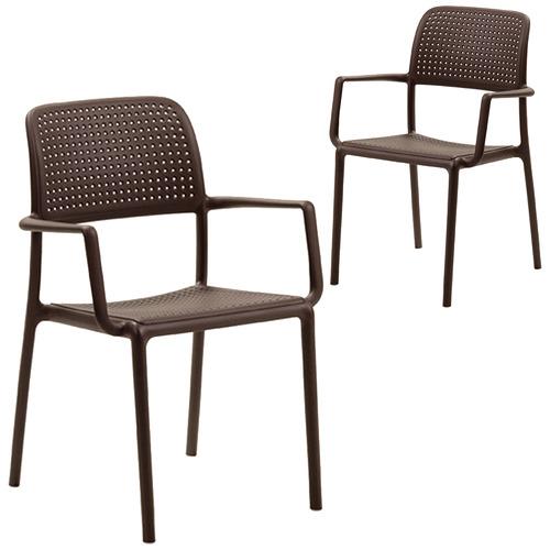 Bright Side Furniture Bora Modern Armchairs