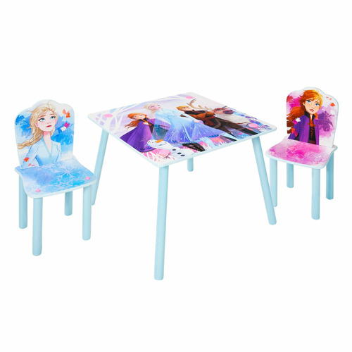 Peachy Disney Frozen Kids Table 2 Chairs Set Caraccident5 Cool Chair Designs And Ideas Caraccident5Info
