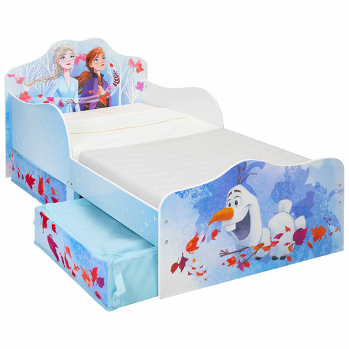 Disney Disney Frozen 2 Kids Toddler Bed With Storage Reviews