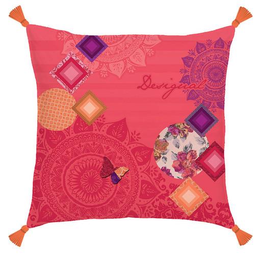 Desigual Patch Square Cushion
