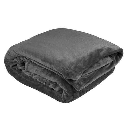 Charcoal Ultraplush Blanket