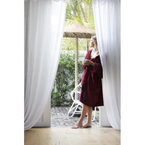 Bambury Merlot Microplush Robe
