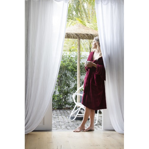 Merlot Microplush Robe