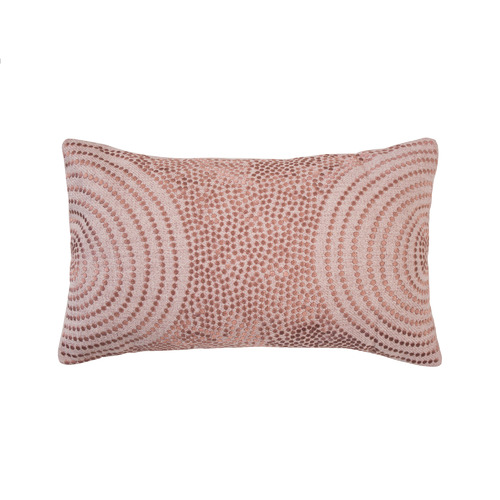 Bambury Rosewater Dot Mikki Cushion