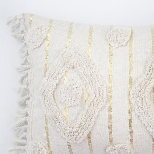Bambury Vasse Tufted Cotton Cushion