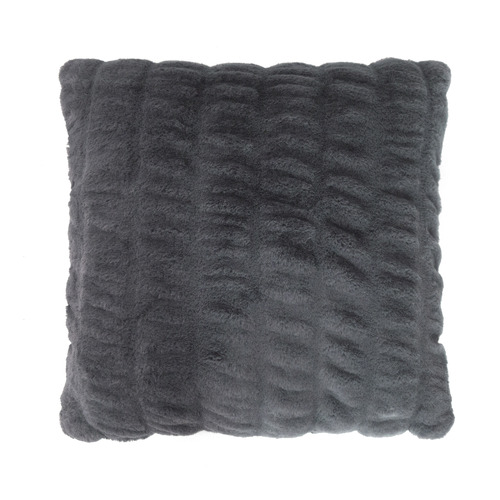 Bambury Ripple Faux Fur Cushion