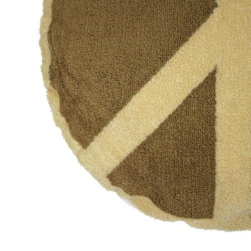 Bambury Peace Round Cotton Cushion