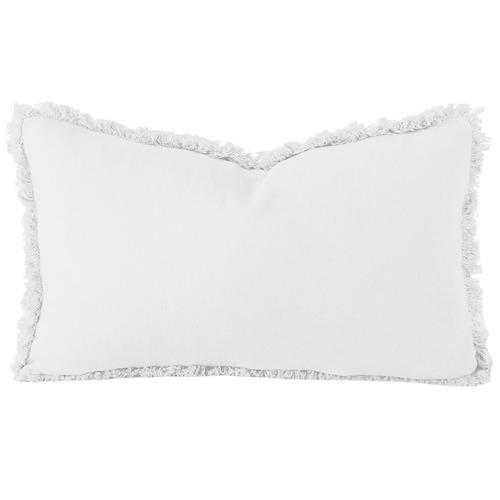 Zoey Rectangular French Flax Linen Cushion