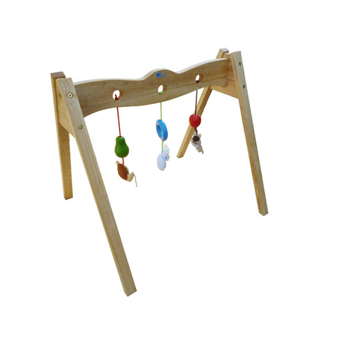 Q Toys Wooden Baby Gym