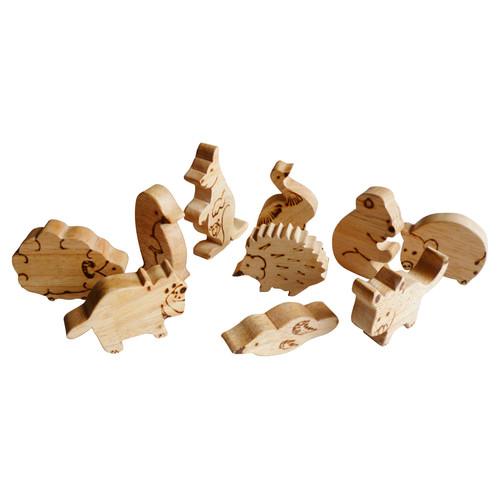 Q Toys Handmade Australian Animal Set