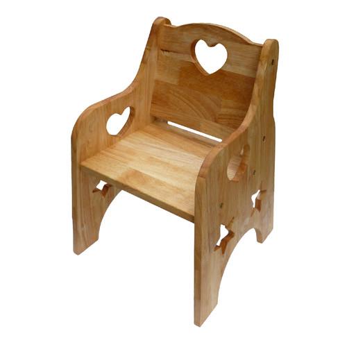 wooden toddler 39 s chair temple webster. Black Bedroom Furniture Sets. Home Design Ideas