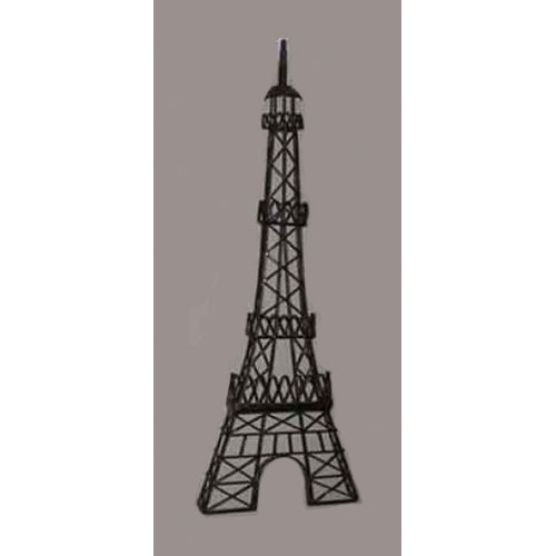 Road To Home Half Eiffel Tower Wall Decor