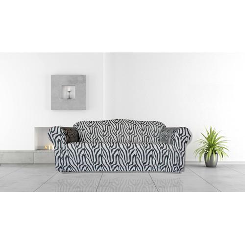 Statement Prints Zebra 3 Seater Sofa Cover