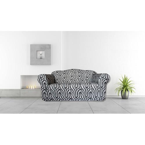 Sure Fit Statement Prints Zebra 2 Seater Sofa Cover