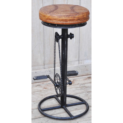 The Decor Store Industrial Fixed Bicycle Bar Stool