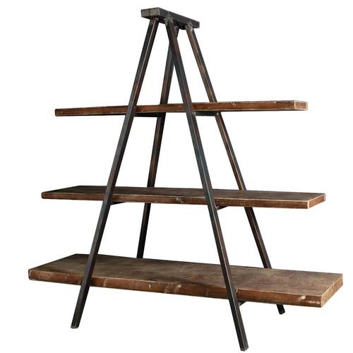 The Decor Store Industrial Tripod Bookcase