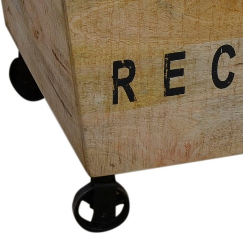 The Decor Store Industrial Recycle Basket