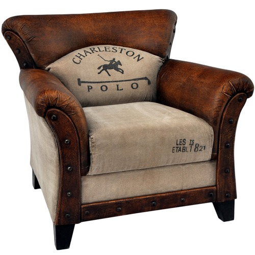 The Decor Store Harriet Polo Vintage Armchair