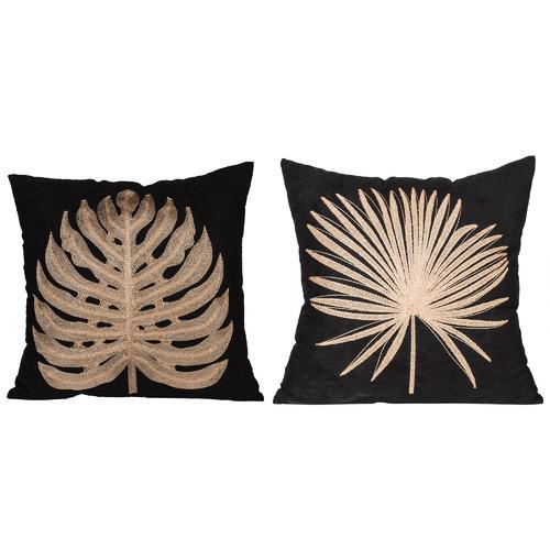 The Decor Store 2 Piece Autumn Square Cushion Set