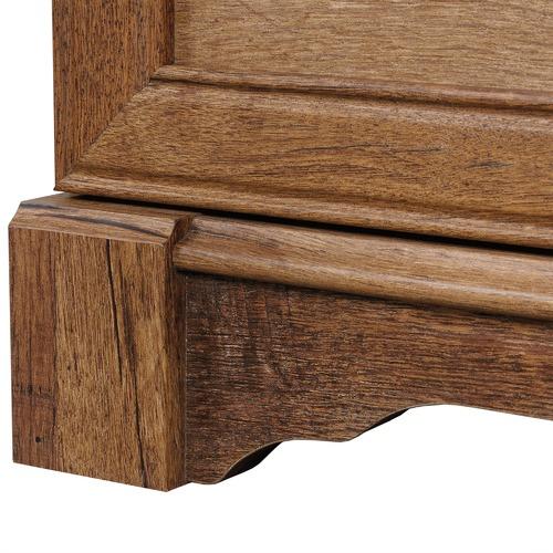 Sauder Vintage Oak Palladia Dresser