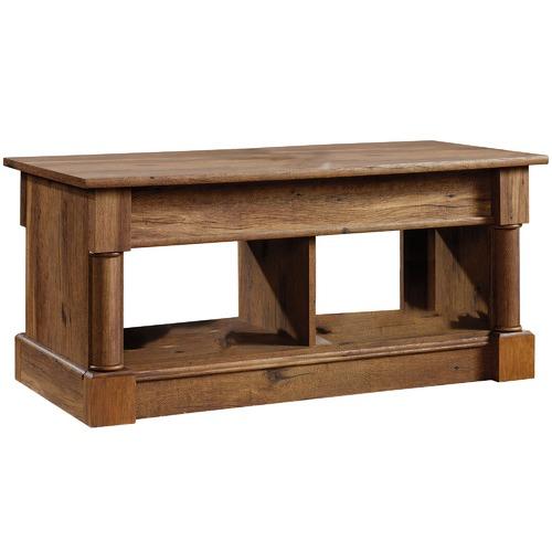 Lift Top Coffee Table Antique: Sauder Vintage Oak Palladia Lift Top Coffee Table