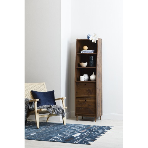 Sauder Harvey Park Narrow Modern Bookcase